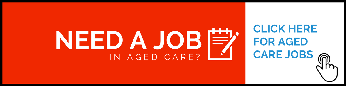 Find aged care jobs banner