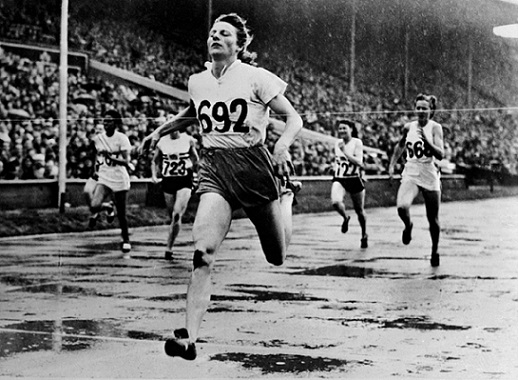 Fanny Blankers-Koen won 4 gold medals at the 1948 Olympic Games