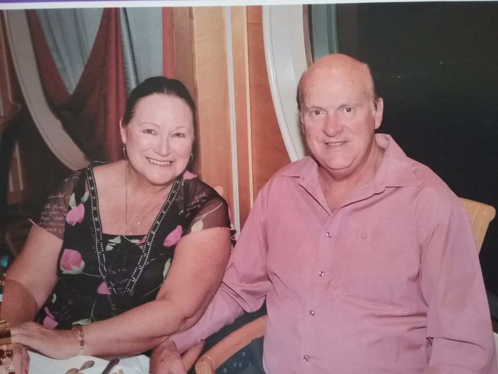 Gaynor and Ian have been on 88 cruises together since their honeymoon.