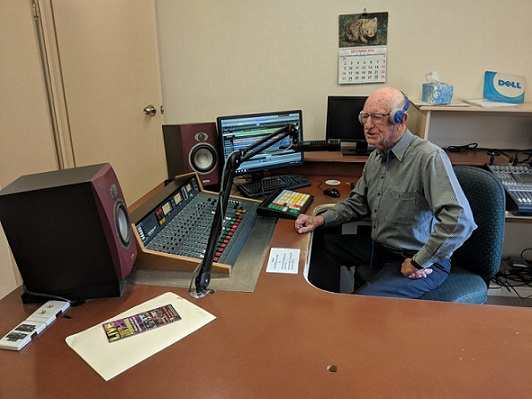 Russ Walkington is a Traveling Radio Man