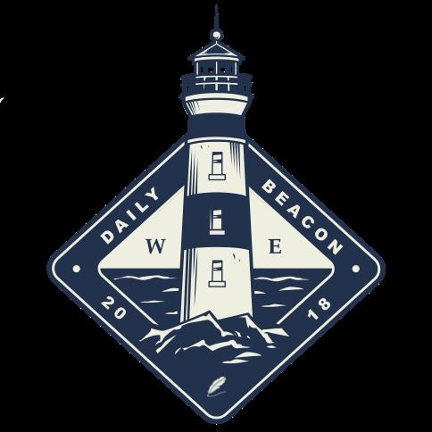 daily beacon logo Logo - Full Text Versions