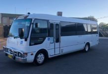 The Woodstock-to-Cowra bus has not yet had any passengers.